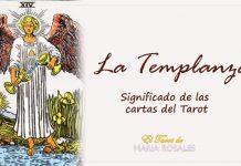 La Templanza significados de las cartas del Tarot