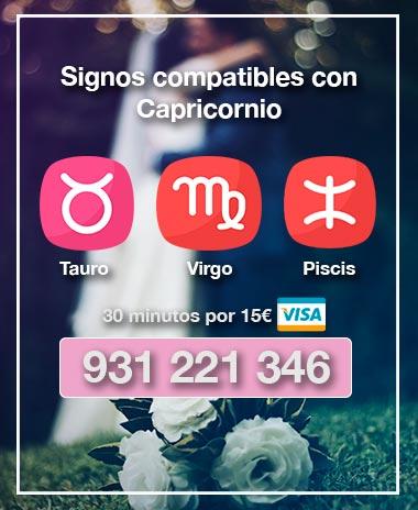 signos compatibles con capricornio