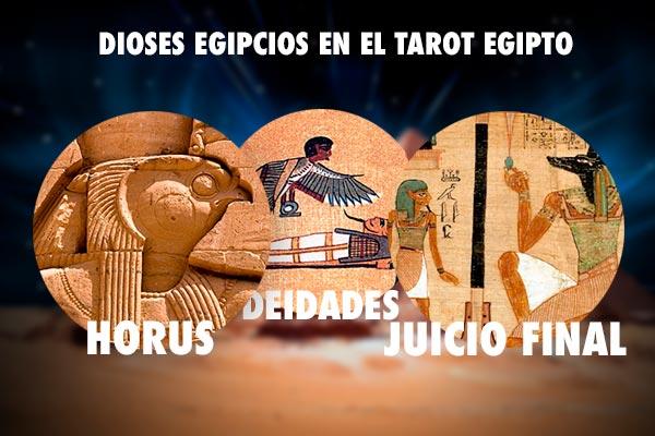 dioses mas vistos en el tarot egipcio