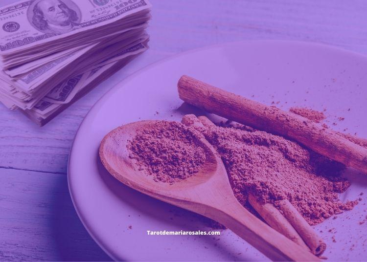 atraer dinero con canela