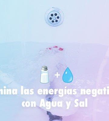 elimina las energias negativas con sal