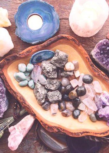 Calmar la ansiedad con cristales