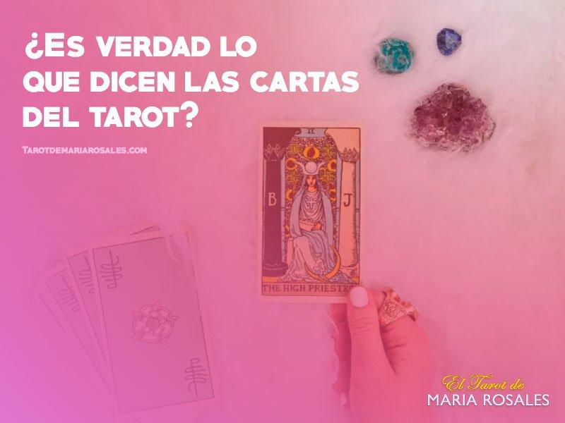 ¿Es verdad lo que dicen las cartas del Tarot? 1