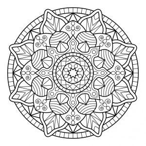 Colorear Mandalas es una técnica de meditación muy recomendada 5