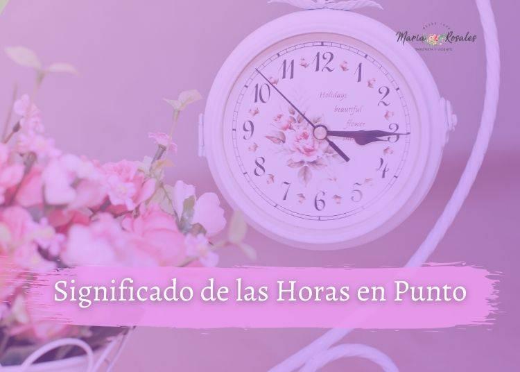 significado de las horas en punto