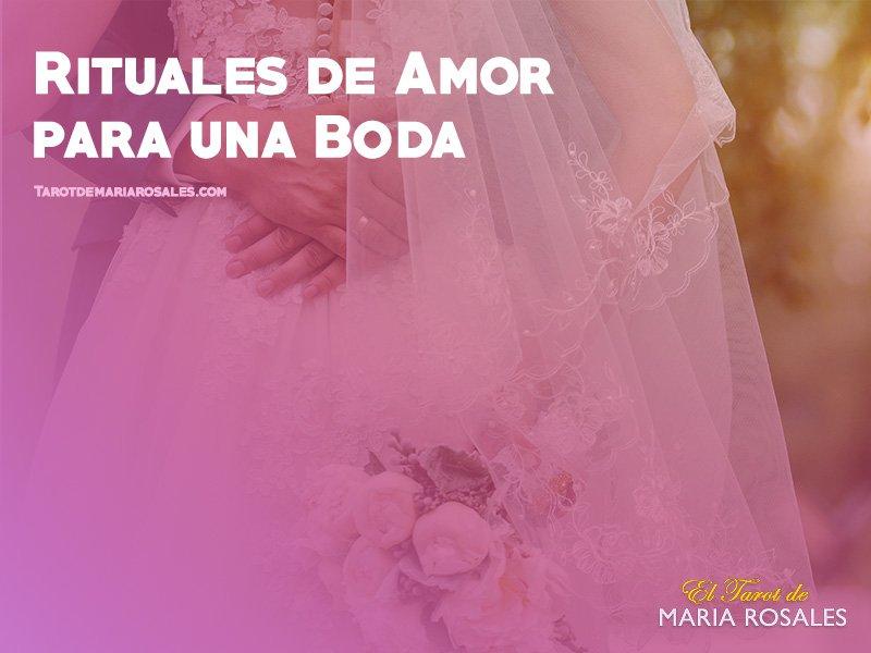 rituales de amor para una boda