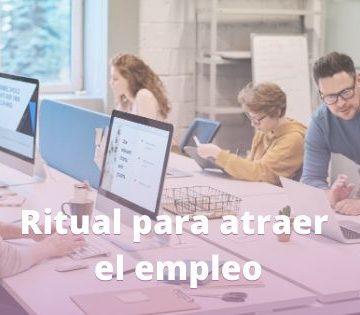 ritual para atraer el empleo