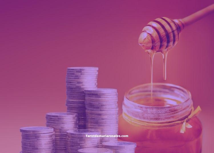 Atraer la Abundancia y el Dinero con Monedas y Miel