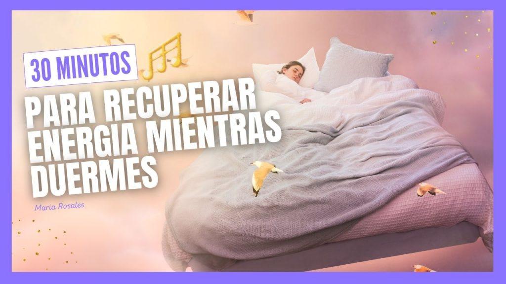 música para recuperar energía mientras duermes